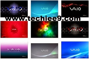 This Sony Vaio Windows 7 8 Theme Contain Collection Of Latest Images Wallpapers Background Themepack