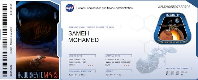 هل تريد إرسال إسمك أو إسم من تحب إلى كوكب المريخ عن طريق ناسا شاهد الطريقة !