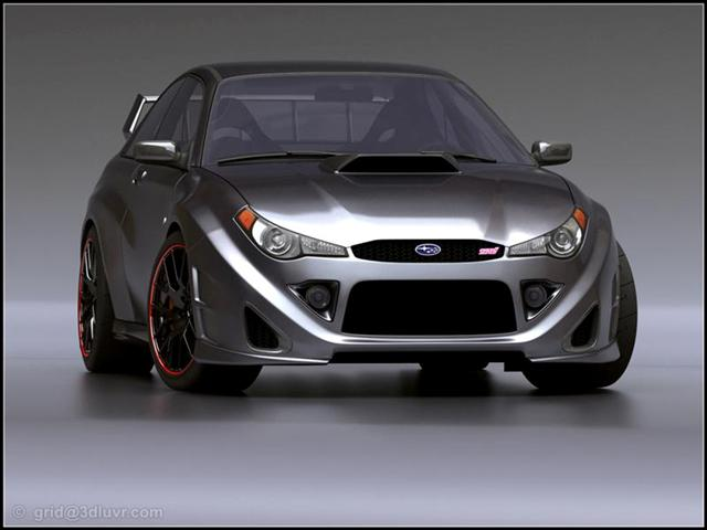 Subaru Impreza WRX STI   Stylish Car
