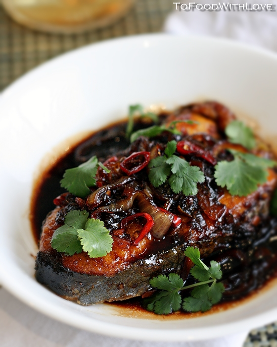To Food With Love Ikan Masak Kicap Fish In Soy Sauce