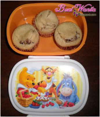 Bekal Anak Ke Sekolah muffin vanilla