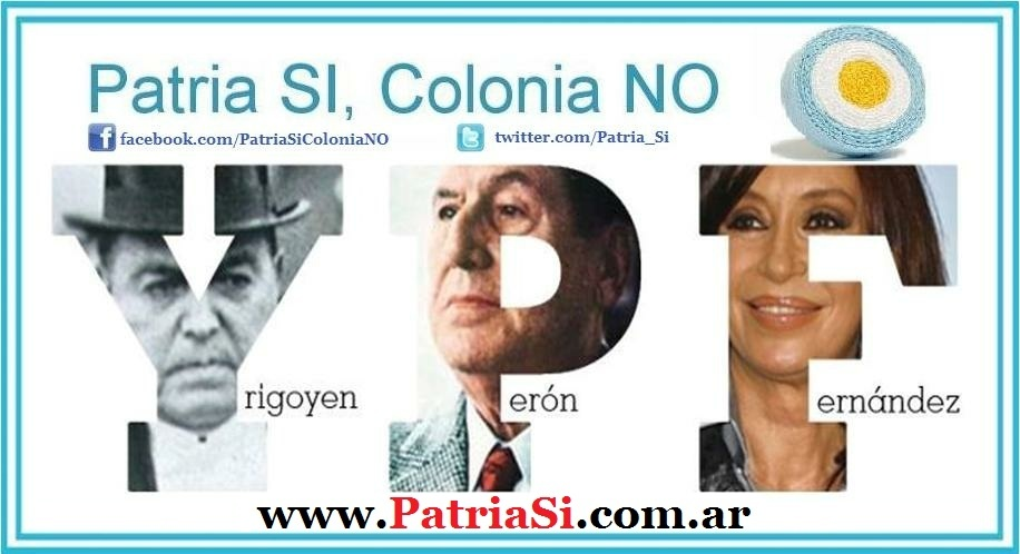 Patria SI, Colonia NO