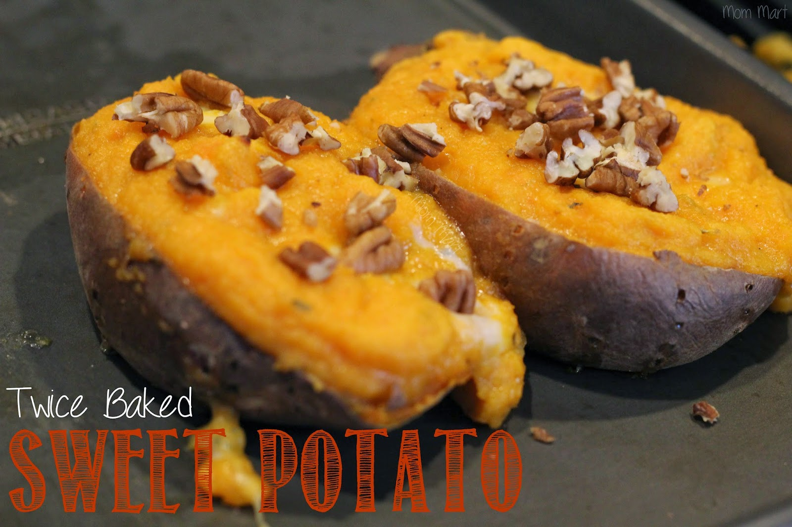 Twice Baked Sweet Potatoes  #Recipe #Tutorial #Foodie #YUM