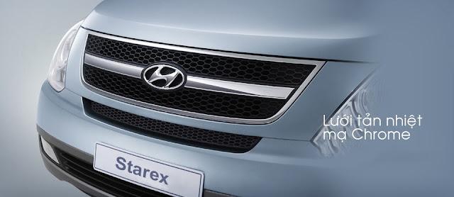 Lưới Tản Nhiệt Xe Hyundai Starex 9 chỗ 2014