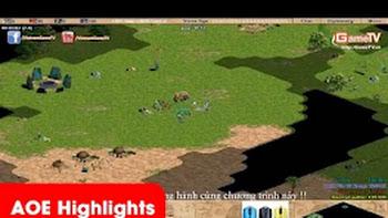 Aoe Highlights - Bạn có tin rằng chỉ một con cung T của Gunny đã quyết định trận đấu không? (BLV...