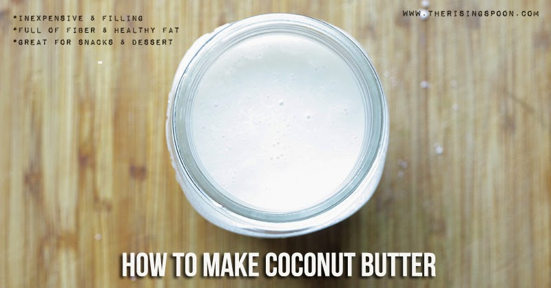 How to Make Coconut Butter Without a High Speed Blender or Food Processor