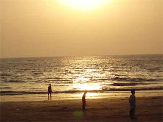 Juhu in morning wallpapers free, Morning view of Juhu Beach wallpapers