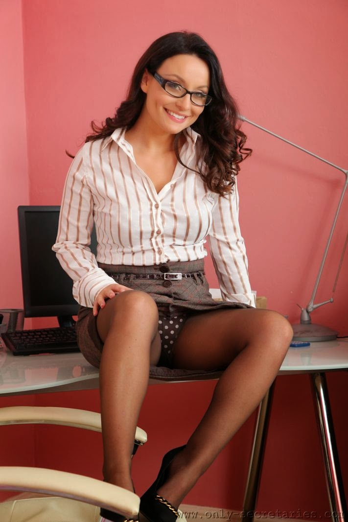 Want see carla brown pantyhose