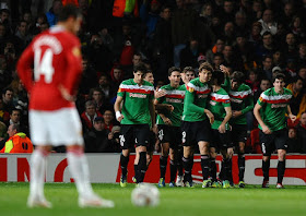 VIDEO MANCHESTER UNITED VS ATHLETIC BILBAO 2-3