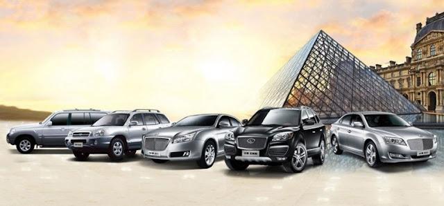 модельный ряд легковых автомобилей Hawtai