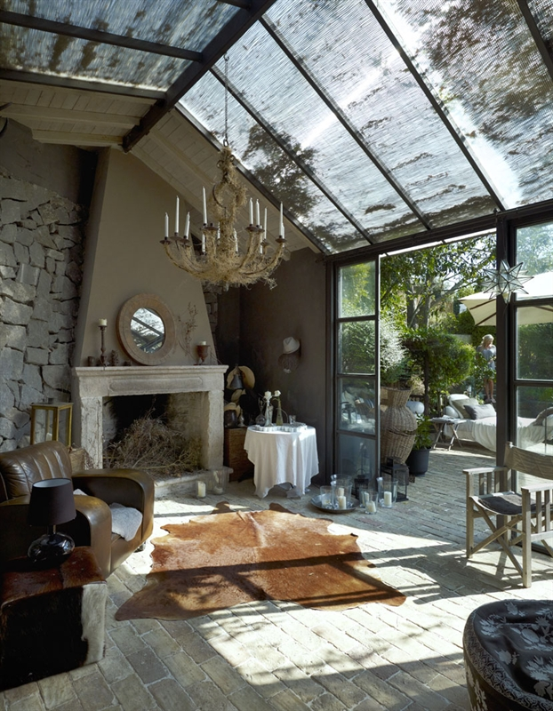 Color salon rustico 3 decorar tu casa es for Interiorismo rustico