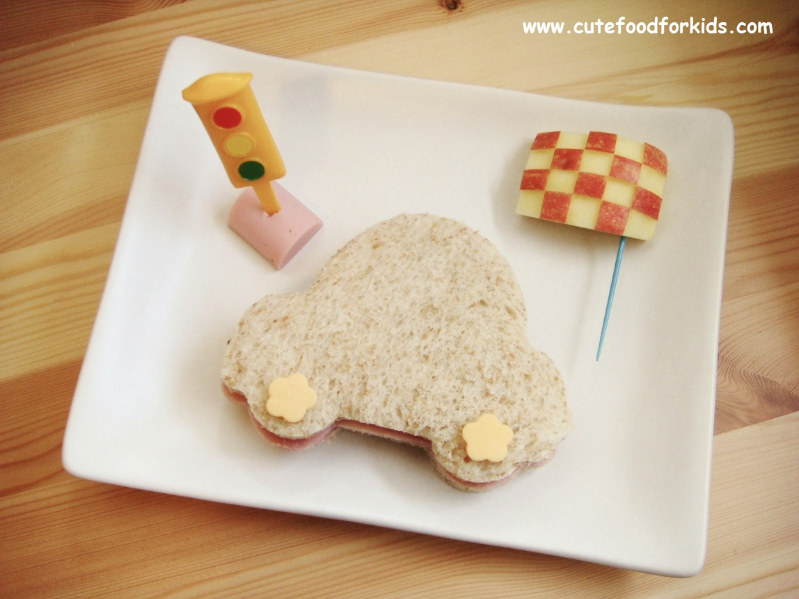 Cute Food For Kids How I Use My Car Shaped Cookie Cutter