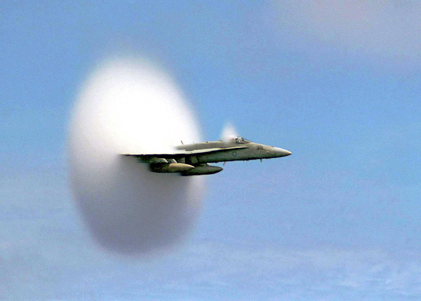 sonic boom plane