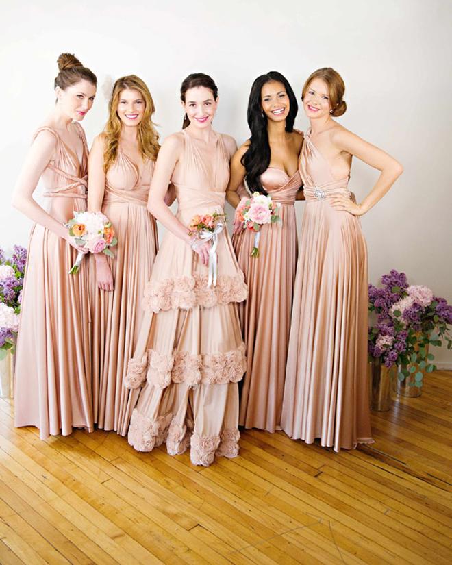 Convertible Bridesmaid Dresses - Belle The Magazine
