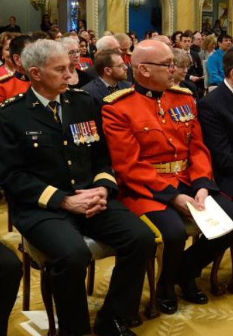Rcmp medal placement dress