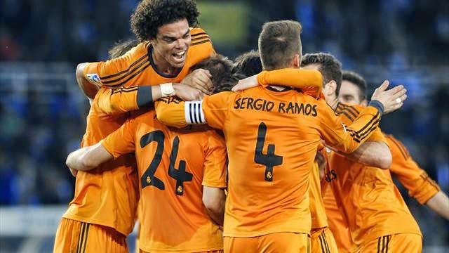 شاهد اهداف مباراة ريال مدريد و ريال سوسيداد 4-0
