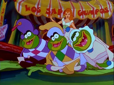 Thumbelina toads Thumbelina 1994 animatedfilmreviews.blogspot.com