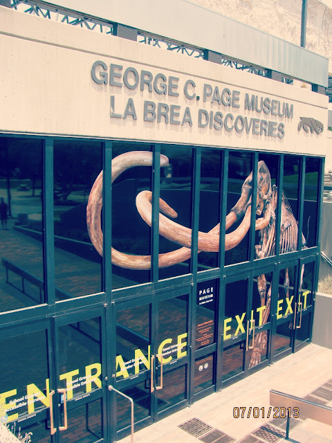 La Brea Tar Pits- Museum Entrance