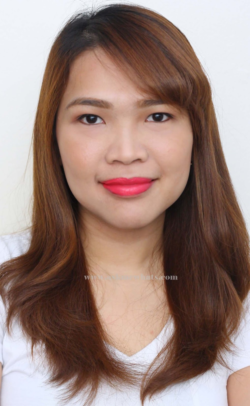 wearing Etude House Color in Liquid Lips