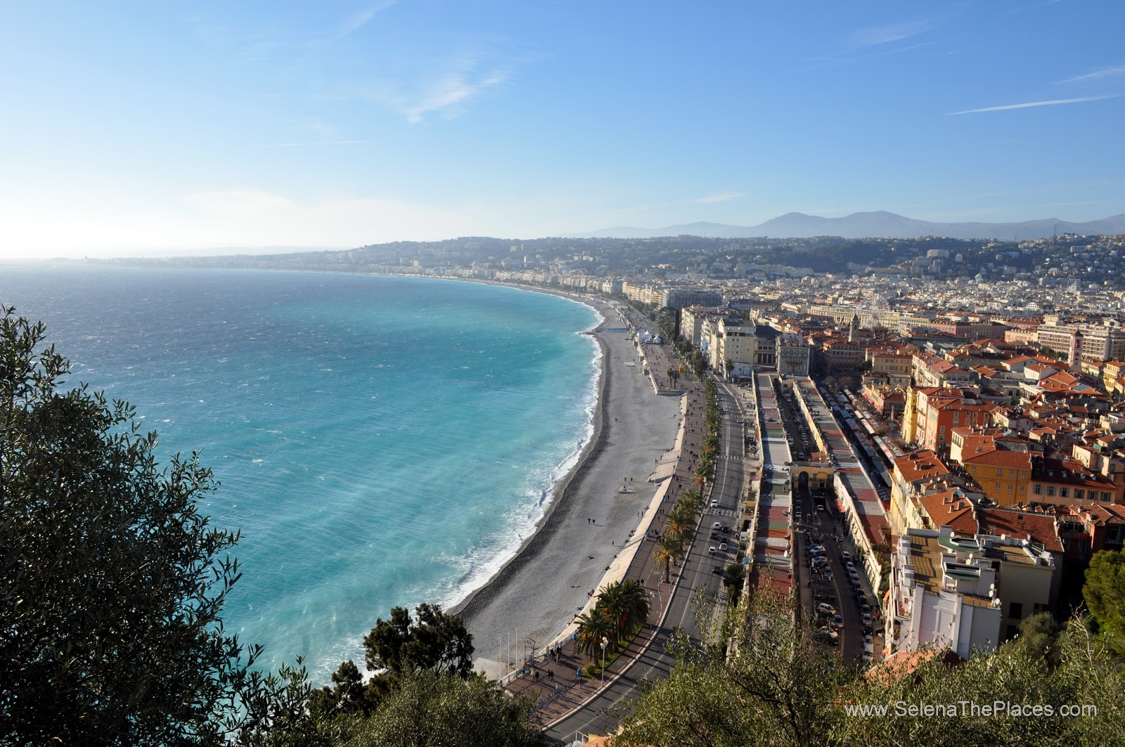 Castle Hill in Nice, France