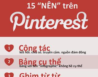 Pinterest - 15 điều nên làm