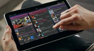 Pengguna tablet