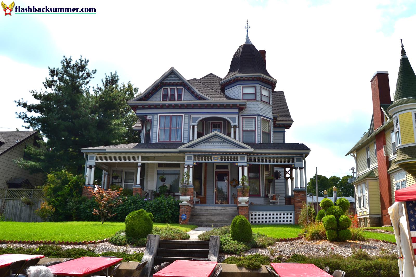 Flashback Summer: Cider Days 2014, Springfield Missouri, Walnut Street Victorian house