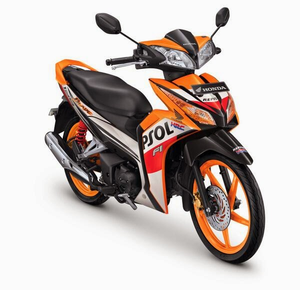 New Honda Blade 125 FI Usung Mesin 125cc