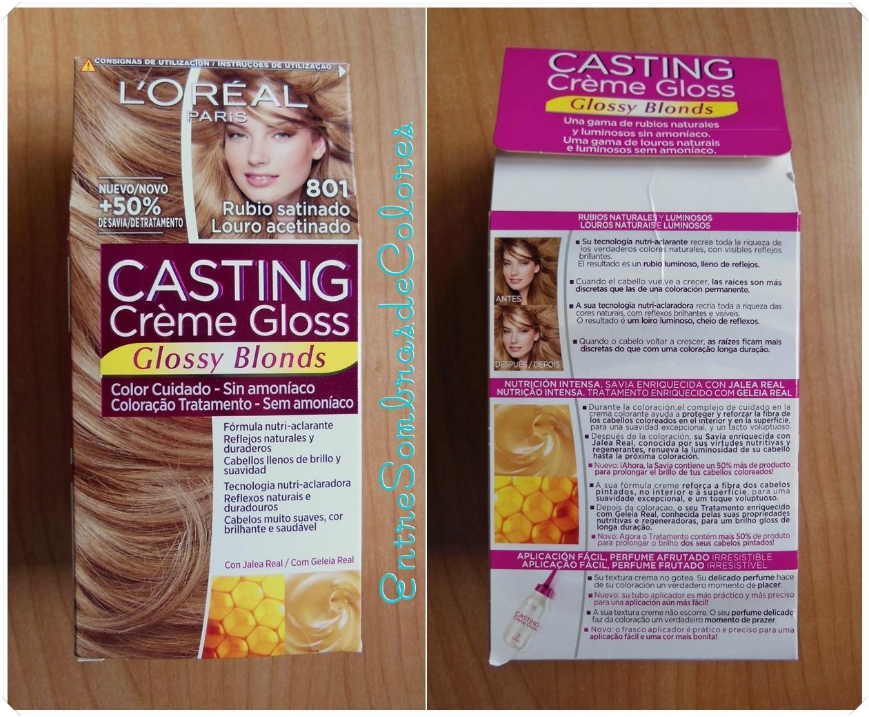 Ba o de color creme gloss cvillebgclub - Bano de color loreal ...
