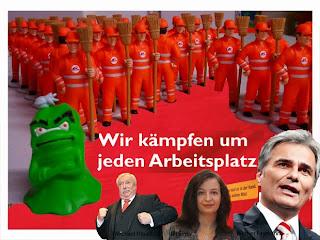 Werner Faymann, Ulli Sima, Michael Häupl