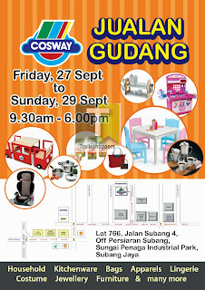 Cosway Warehouse Clearance 2013