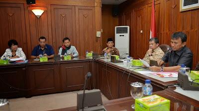 Sumut Dorong Pembentukan Badan Rekonstruksi dan Rehabilitasi Erupsi Sinabung