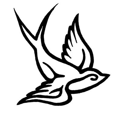 birds tattoos for you swallow bird tattoos designs. Black Bedroom Furniture Sets. Home Design Ideas