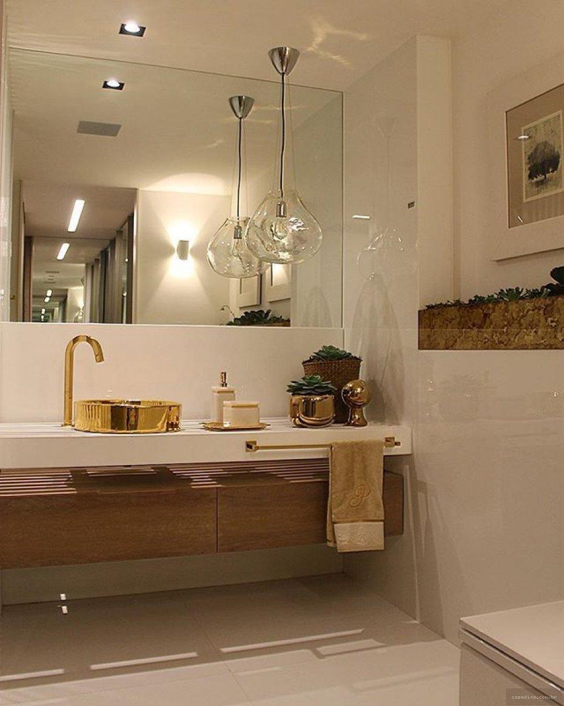 Construindo minha casa clean banheiros e lavabos for Fotos lavabos