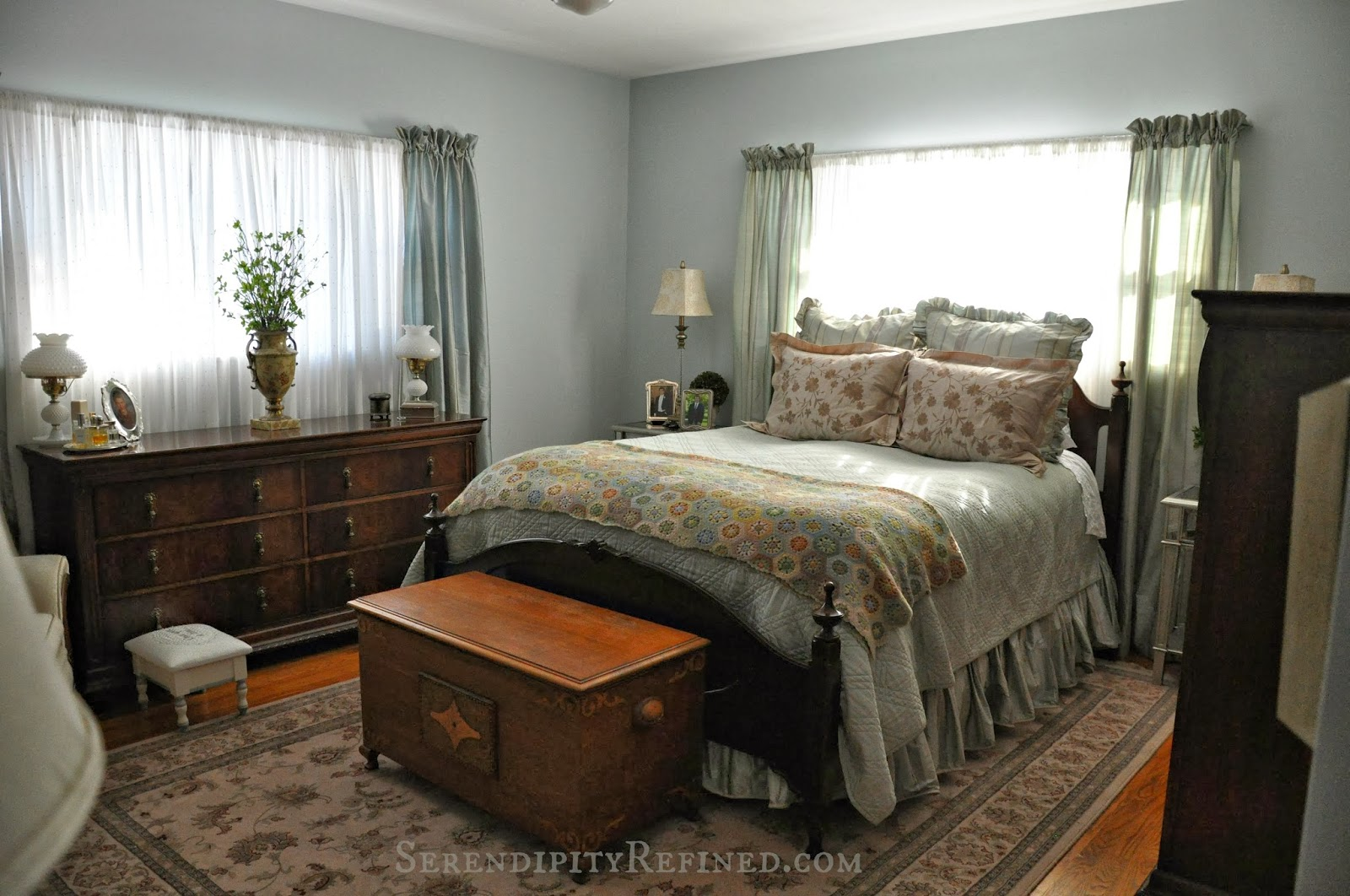 Serendipity Refined Blog Bedroom Progress Photos French Farmhouse Update