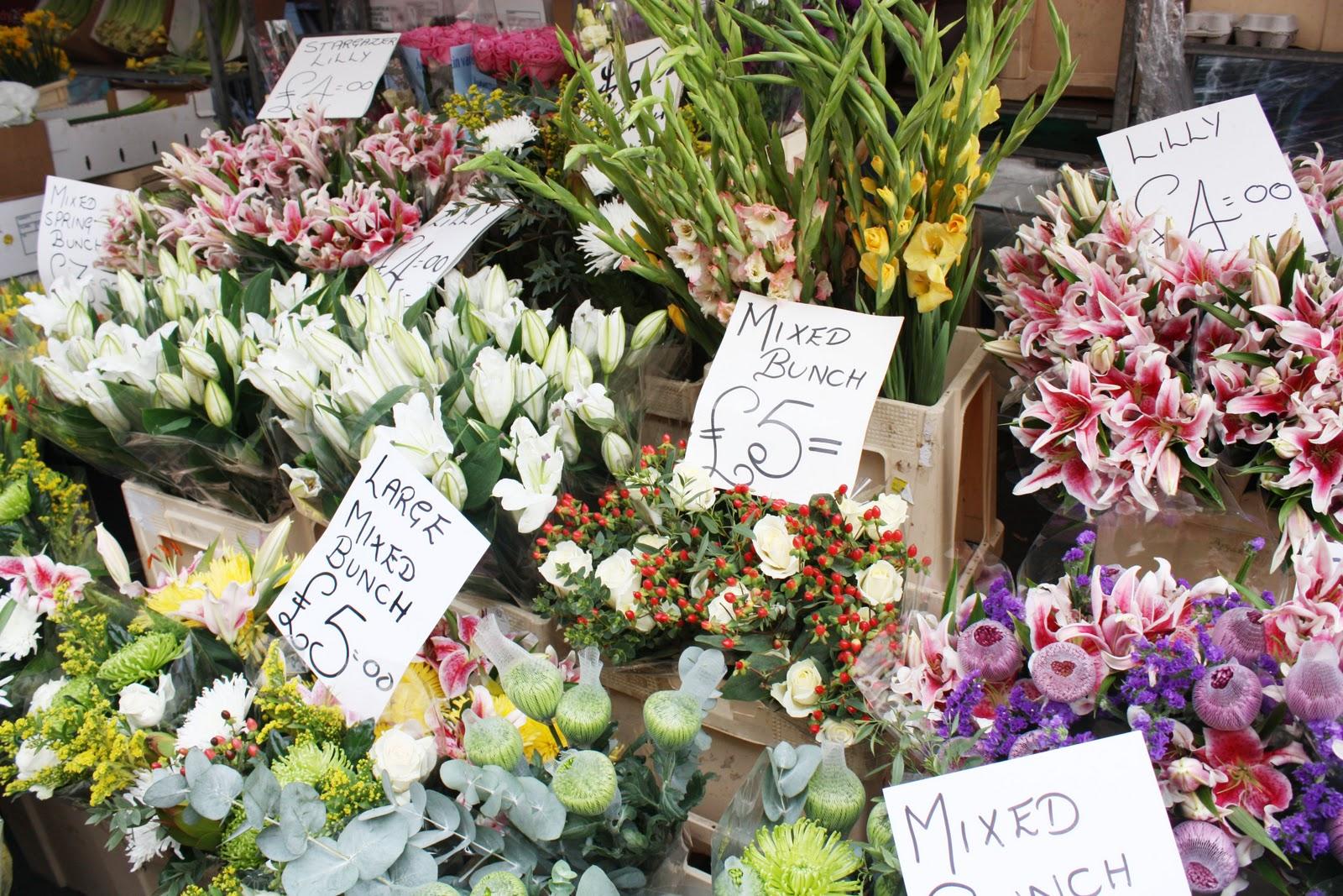 Etrala London Blog Flower Market Columbia Road