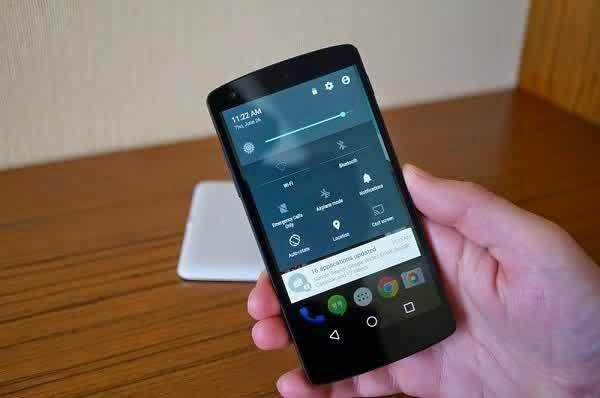 Update Android L Nexus 5