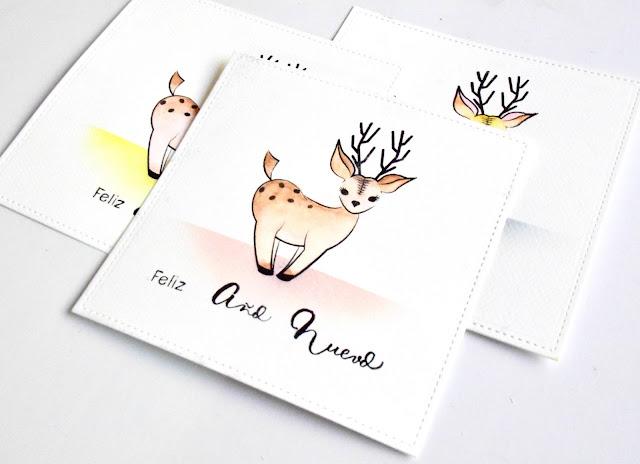 Más tarjetas y Feliz Navidad