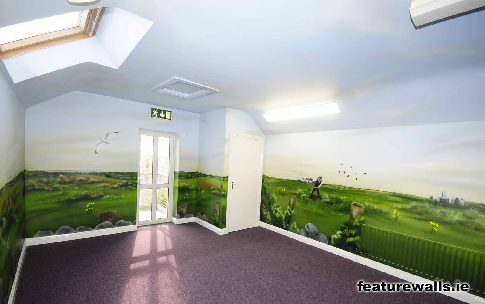 Mural painting professionals tuam for Airbrushed mural