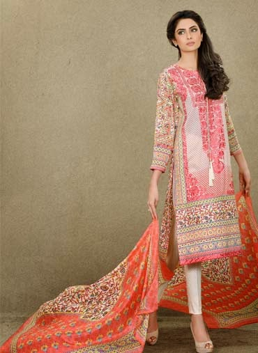 Pakistani lawn suits 2015