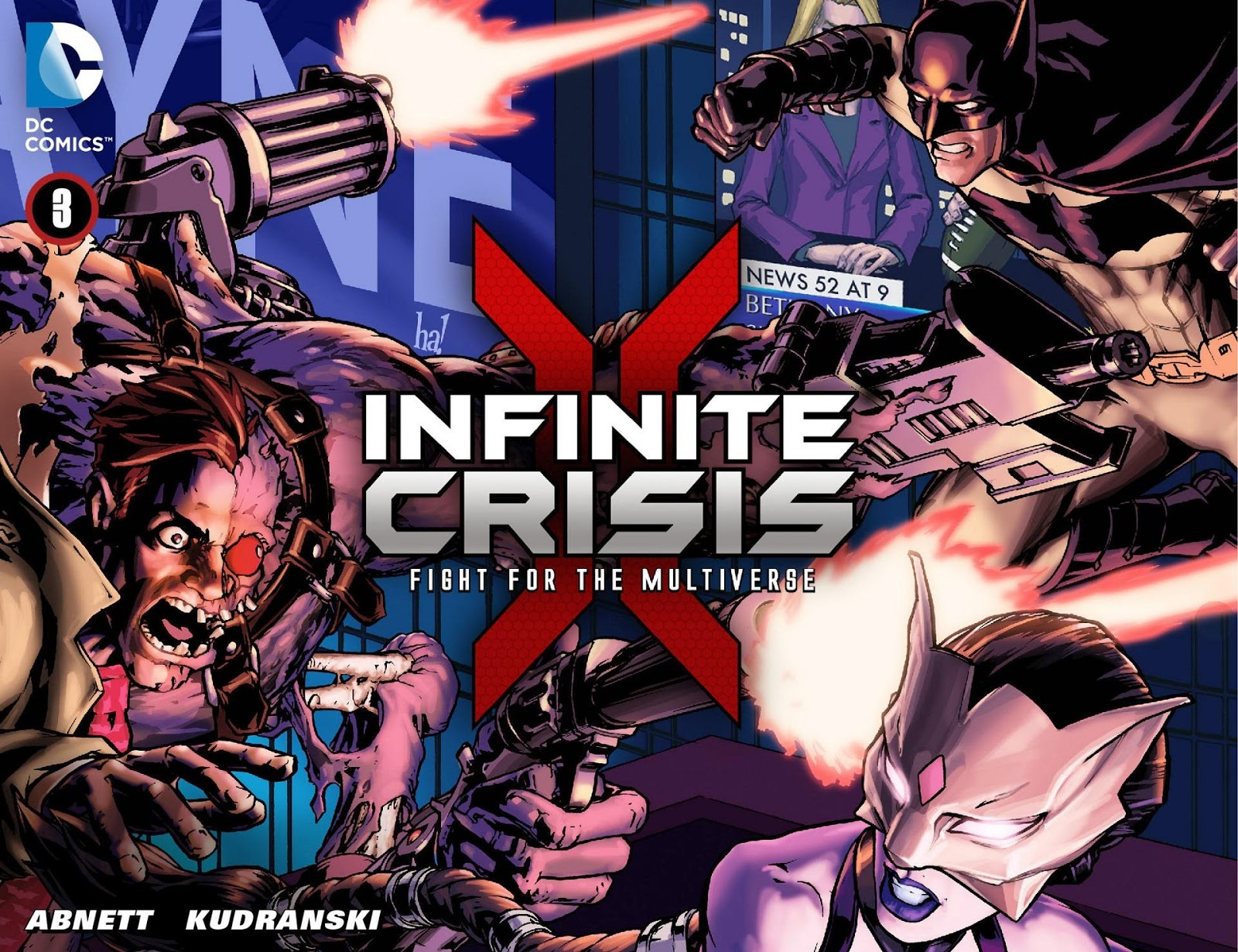 Weird Science DC Comics: Infinite Crisis: Fight for the
