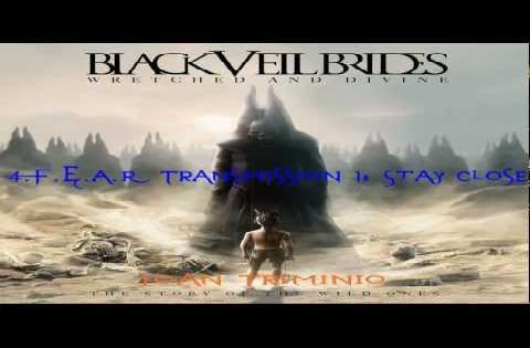 black veil brides F.E.A.R Transmission 1 stay close cover