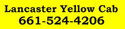Lancaster Yellow Cab (661) 524-4206