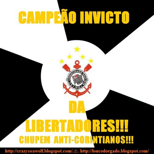 Campeão da Libertadores invicto!
