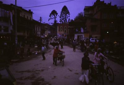 Abend in Kathmandu