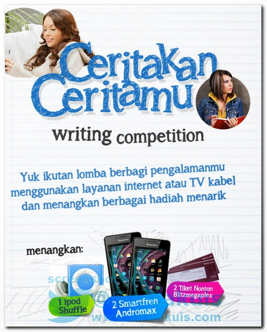 Kontes Cerita Berahadiah 2 Smartfren Andromax dan hadiah lainnya