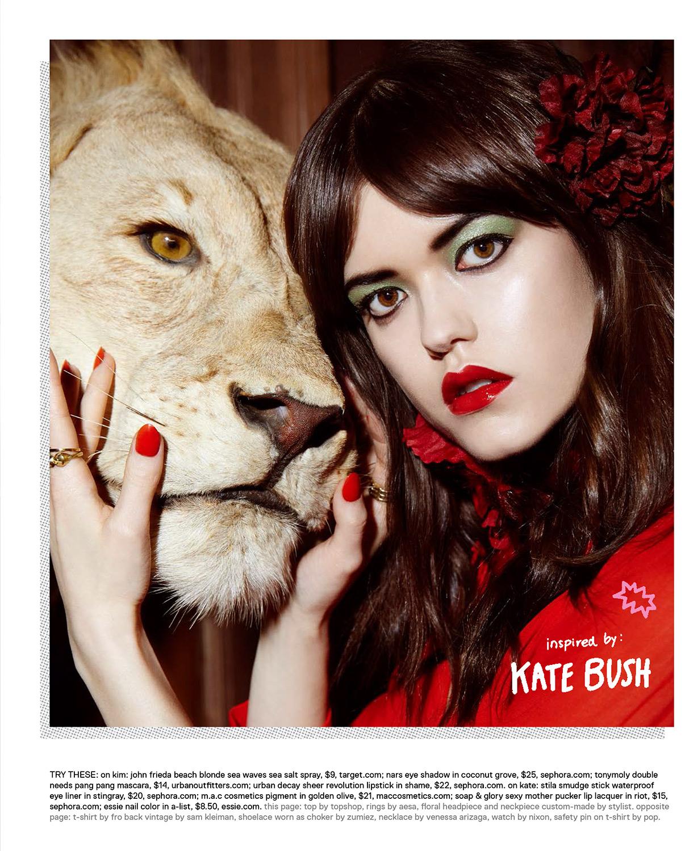 Kate Bush Makeup Inspiration Style