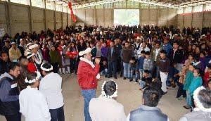 El respaldo de los electores del distrito de Zongolica está con Efraín García