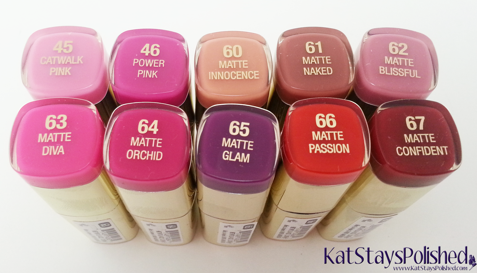 Milani Color Statement Matte Lipstick | Kat Stays Polished