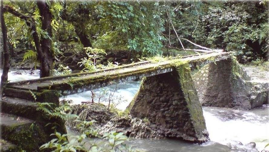 Jembatan yang ada di Bislab